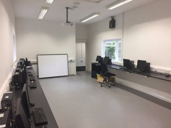 Installation of science and computer room