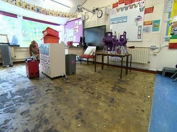 Woodthorpe Primary School – Repairs Following Flash Floods