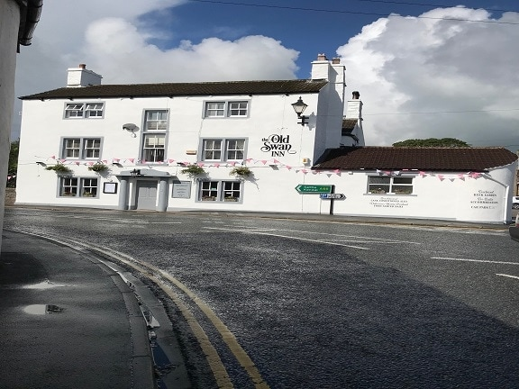 Old Swan Inn Gargrave  – External Decorations and Various Works