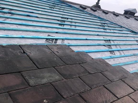 Emergency Roof Repair – Salvation Army Housing Association – Derby