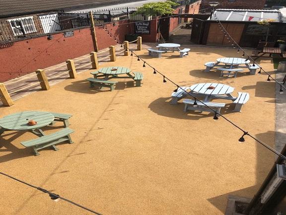 Coffee House, Liverpool – Beer Garden Transformation