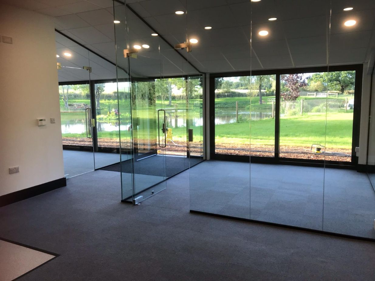 Brand New Bespoke Office Construction For Our Continued Growth