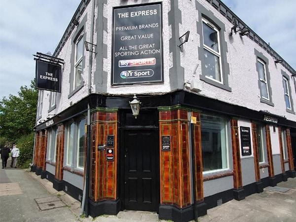 Pub refurbishment in Crewe