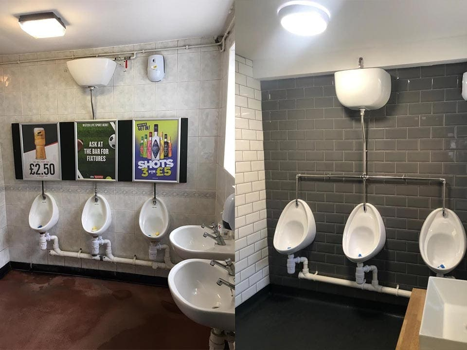 Ladies and Gents Toilet Refurb in Winsford