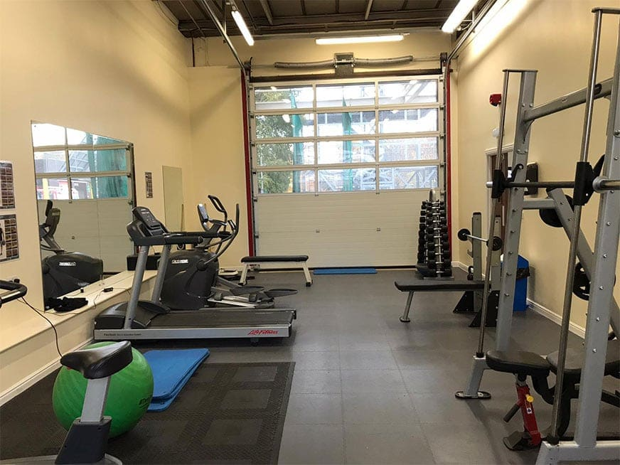 Gym Relocation for West Midlands Fire Service – West Bromwich Station