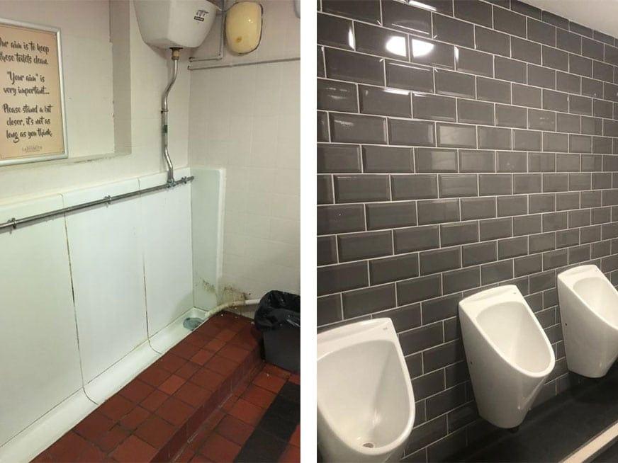 Full Toilet Refurbishment in Ashton Under Lyne