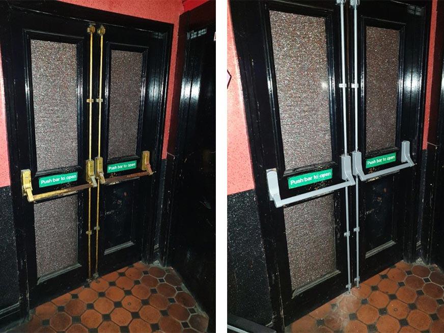Fire Exit Doors in Blackpool