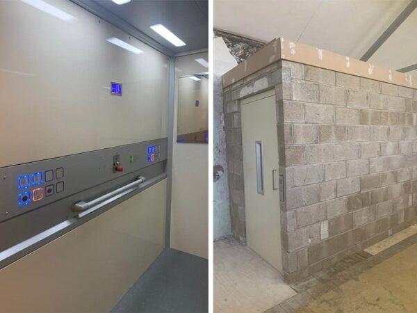 Lift shaft Installation