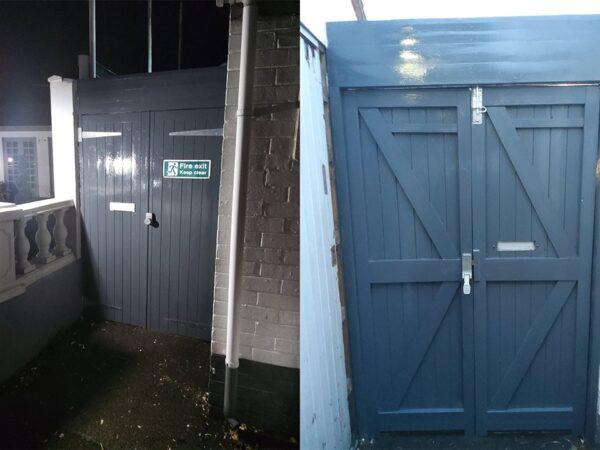 External Exit Fire Door Replacement